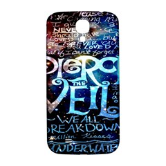 Pierce The Veil Quote Galaxy Nebula Samsung Galaxy S4 I9500/i9505  Hardshell Back Case by Onesevenart