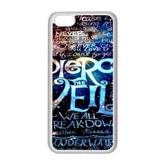 Pierce The Veil Quote Galaxy Nebula Apple Iphone 5c Seamless Case (white) by Onesevenart