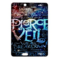 Pierce The Veil Quote Galaxy Nebula Amazon Kindle Fire Hd (2013) Hardshell Case by Onesevenart