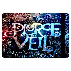 Pierce The Veil Quote Galaxy Nebula Ipad Air Flip by Onesevenart