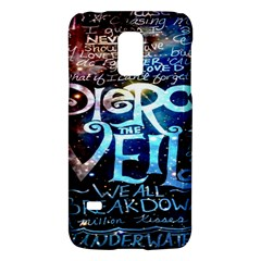 Pierce The Veil Quote Galaxy Nebula Galaxy S5 Mini by Onesevenart