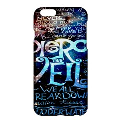 Pierce The Veil Quote Galaxy Nebula Apple Iphone 6 Plus/6s Plus Hardshell Case by Onesevenart