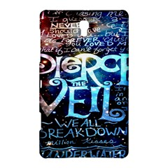 Pierce The Veil Quote Galaxy Nebula Samsung Galaxy Tab S (8 4 ) Hardshell Case  by Onesevenart