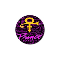 Prince Poster Golf Ball Marker (10 Pack) by Onesevenart