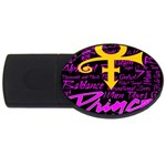 Prince Poster USB Flash Drive Oval (2 GB)