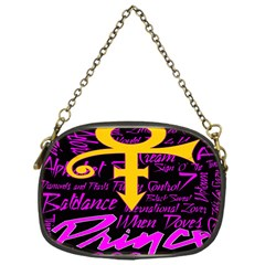 Prince Poster Chain Purses (one Side)  by Onesevenart