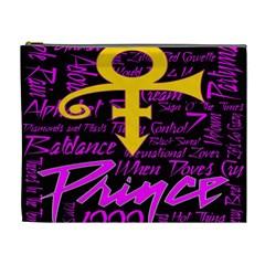 Prince Poster Cosmetic Bag (xl) by Onesevenart