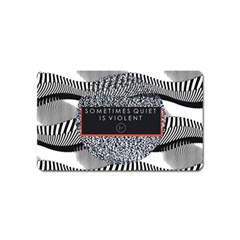 Sometimes Quiet Is Violent Twenty One Pilots The Meaning Of Blurryface Album Magnet (name Card) by Onesevenart