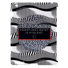 Sometimes Quiet Is Violent Twenty One Pilots The Meaning Of Blurryface Album Apple Ipad 3/4 Hardshell Case (compatible With Smart Cover) by Onesevenart