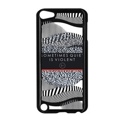 Sometimes Quiet Is Violent Twenty One Pilots The Meaning Of Blurryface Album Apple Ipod Touch 5 Case (black) by Onesevenart