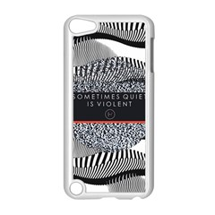 Sometimes Quiet Is Violent Twenty One Pilots The Meaning Of Blurryface Album Apple Ipod Touch 5 Case (white) by Onesevenart