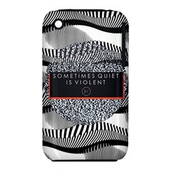 Sometimes Quiet Is Violent Twenty One Pilots The Meaning Of Blurryface Album Iphone 3s/3gs by Onesevenart