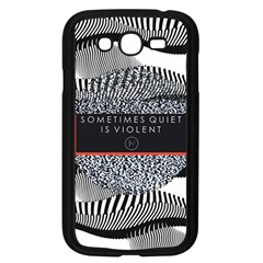 Sometimes Quiet Is Violent Twenty One Pilots The Meaning Of Blurryface Album Samsung Galaxy Grand Duos I9082 Case (black) by Onesevenart