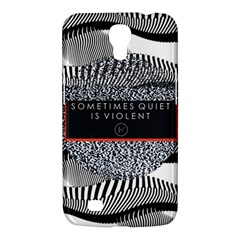 Sometimes Quiet Is Violent Twenty One Pilots The Meaning Of Blurryface Album Samsung Galaxy Mega 6 3  I9200 Hardshell Case by Onesevenart