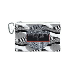 Sometimes Quiet Is Violent Twenty One Pilots The Meaning Of Blurryface Album Canvas Cosmetic Bag (s) by Onesevenart