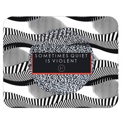 Sometimes Quiet Is Violent Twenty One Pilots The Meaning Of Blurryface Album Double Sided Flano Blanket (medium)  by Onesevenart