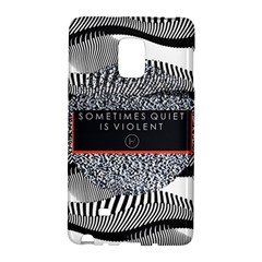 Sometimes Quiet Is Violent Twenty One Pilots The Meaning Of Blurryface Album Galaxy Note Edge by Onesevenart