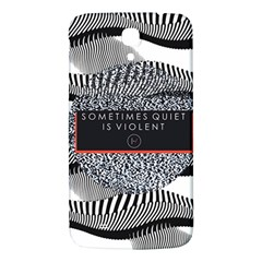Sometimes Quiet Is Violent Twenty One Pilots The Meaning Of Blurryface Album Samsung Galaxy Mega I9200 Hardshell Back Case by Onesevenart