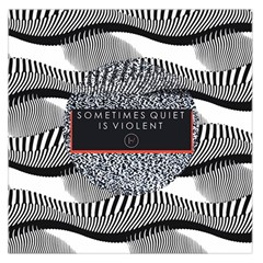 Sometimes Quiet Is Violent Twenty One Pilots The Meaning Of Blurryface Album Large Satin Scarf (square) by Onesevenart