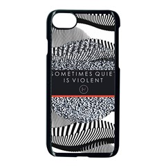 Sometimes Quiet Is Violent Twenty One Pilots The Meaning Of Blurryface Album Apple Iphone 7 Seamless Case (black) by Onesevenart