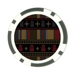 Tardis Doctor Who Ugly Holiday Poker Chip Card Guard (10 pack)