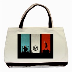 Twenty One 21 Pilots Basic Tote Bag (two Sides) by Onesevenart
