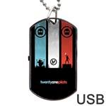 Twenty One 21 Pilots Dog Tag USB Flash (Two Sides)