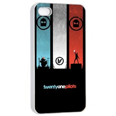 Twenty One 21 Pilots Apple Iphone 4/4s Seamless Case (white) by Onesevenart