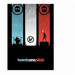Twenty One 21 Pilots Large Garden Flag (two Sides) by Onesevenart
