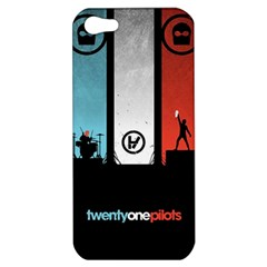 Twenty One 21 Pilots Apple Iphone 5 Hardshell Case by Onesevenart