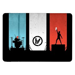 Twenty One 21 Pilots Samsung Galaxy Tab 8 9  P7300 Flip Case by Onesevenart