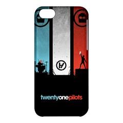 Twenty One 21 Pilots Apple Iphone 5c Hardshell Case by Onesevenart