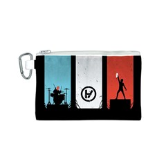 Twenty One 21 Pilots Canvas Cosmetic Bag (s) by Onesevenart