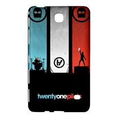 Twenty One 21 Pilots Samsung Galaxy Tab 4 (8 ) Hardshell Case  by Onesevenart