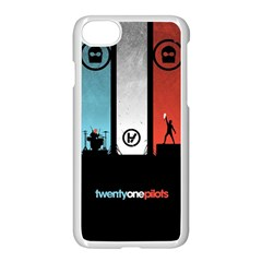 Twenty One 21 Pilots Apple Iphone 7 Seamless Case (white) by Onesevenart