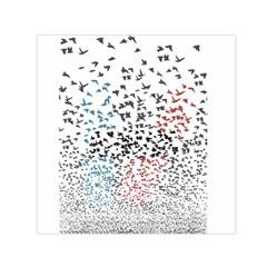 Twenty One Pilots Birds Small Satin Scarf (square) by Onesevenart
