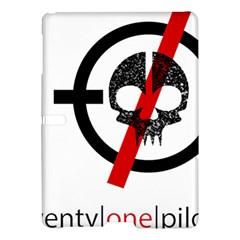Twenty One Pilots Skull Samsung Galaxy Tab S (10 5 ) Hardshell Case  by Onesevenart