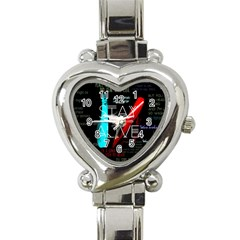 Twenty One Pilots Stay Alive Song Lyrics Quotes Heart Italian Charm Watch by Onesevenart