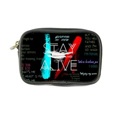 Twenty One Pilots Stay Alive Song Lyrics Quotes Coin Purse by Onesevenart