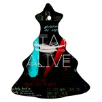 Twenty One Pilots Stay Alive Song Lyrics Quotes Christmas Tree Ornament (Two Sides)