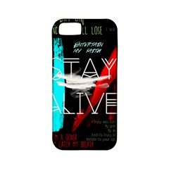 Twenty One Pilots Stay Alive Song Lyrics Quotes Apple Iphone 5 Classic Hardshell Case (pc+silicone) by Onesevenart
