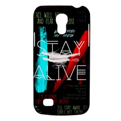 Twenty One Pilots Stay Alive Song Lyrics Quotes Galaxy S4 Mini by Onesevenart