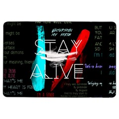 Twenty One Pilots Stay Alive Song Lyrics Quotes Ipad Air 2 Flip by Onesevenart