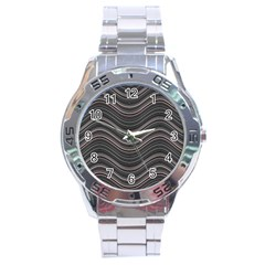 Abstraction Stainless Steel Analogue Watch by Valentinaart