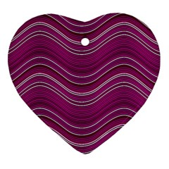 Abstraction Heart Ornament (two Sides) by Valentinaart
