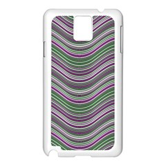 Abstraction Samsung Galaxy Note 3 N9005 Case (white) by Valentinaart