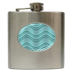 Abstraction Hip Flask (6 Oz) by Valentinaart