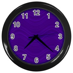 Abstraction Wall Clocks (black) by Valentinaart