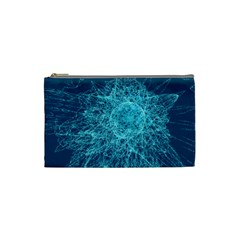 Shattered Glass Cosmetic Bag (small)  by linceazul