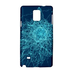 Shattered Glass Samsung Galaxy Note 4 Hardshell Case by linceazul